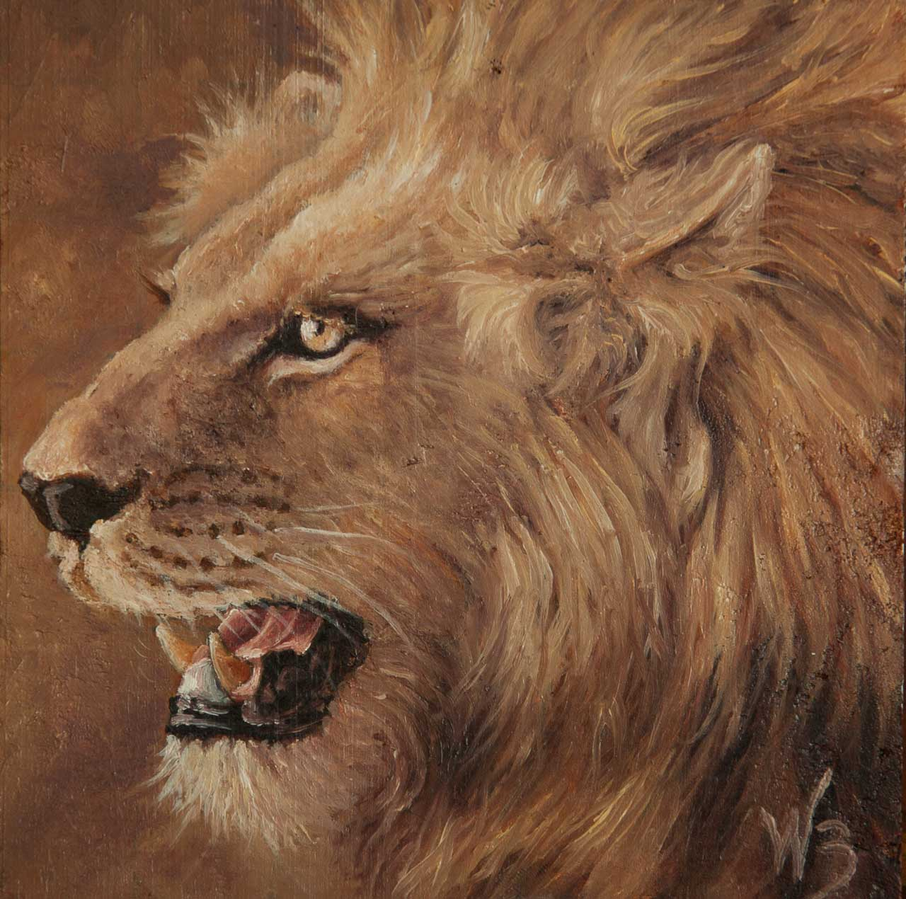 Lion Miniature Oils