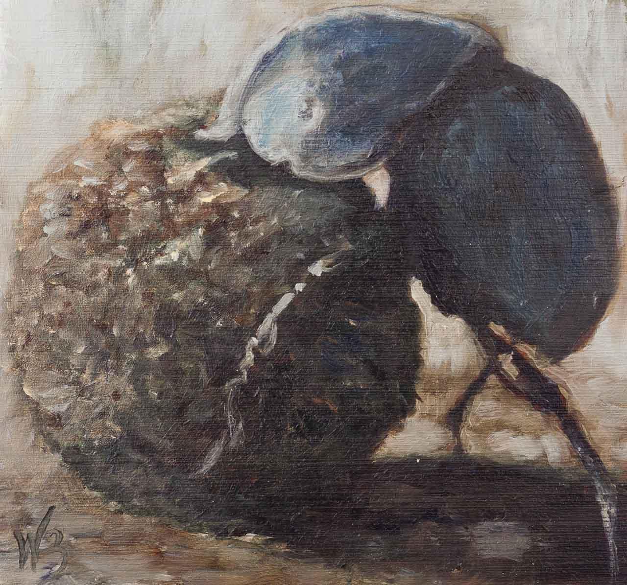 Dung Beetle Miniature