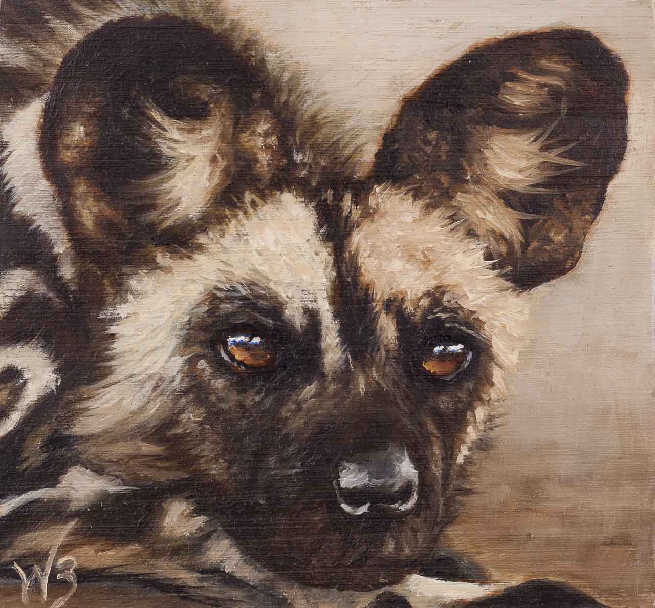 Wild Dog Miniature