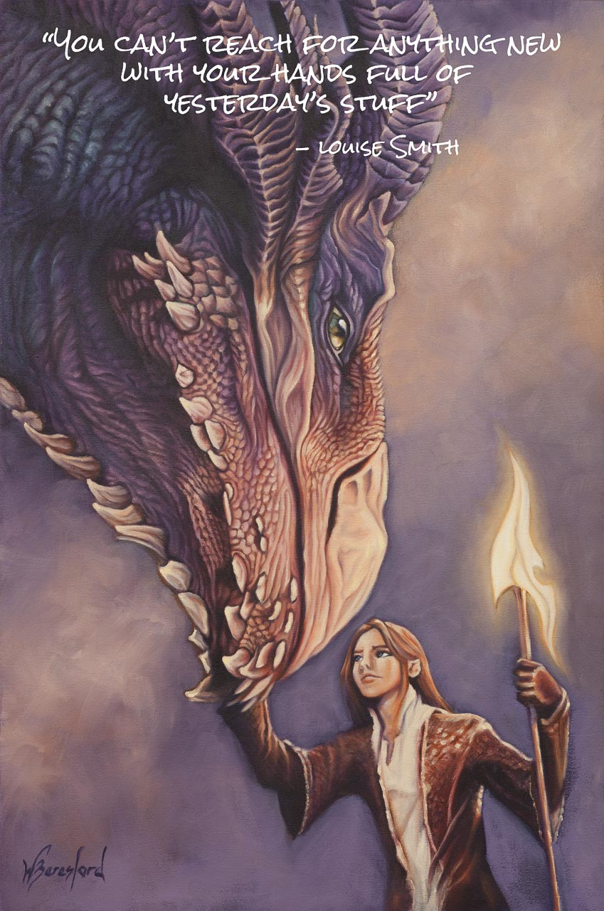 Dragon and Elf